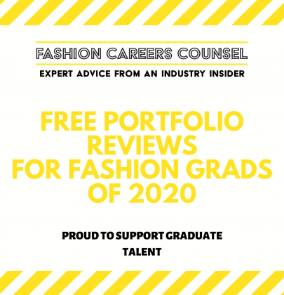 FCC Launches Graduate Programme: FREE Portfolio Reviews for Fashion Design Grads of 2020